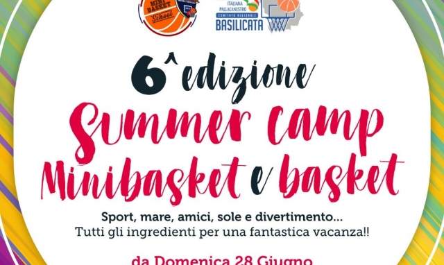 SUMMER CAMP 2020 MINIBASKET E BASKET